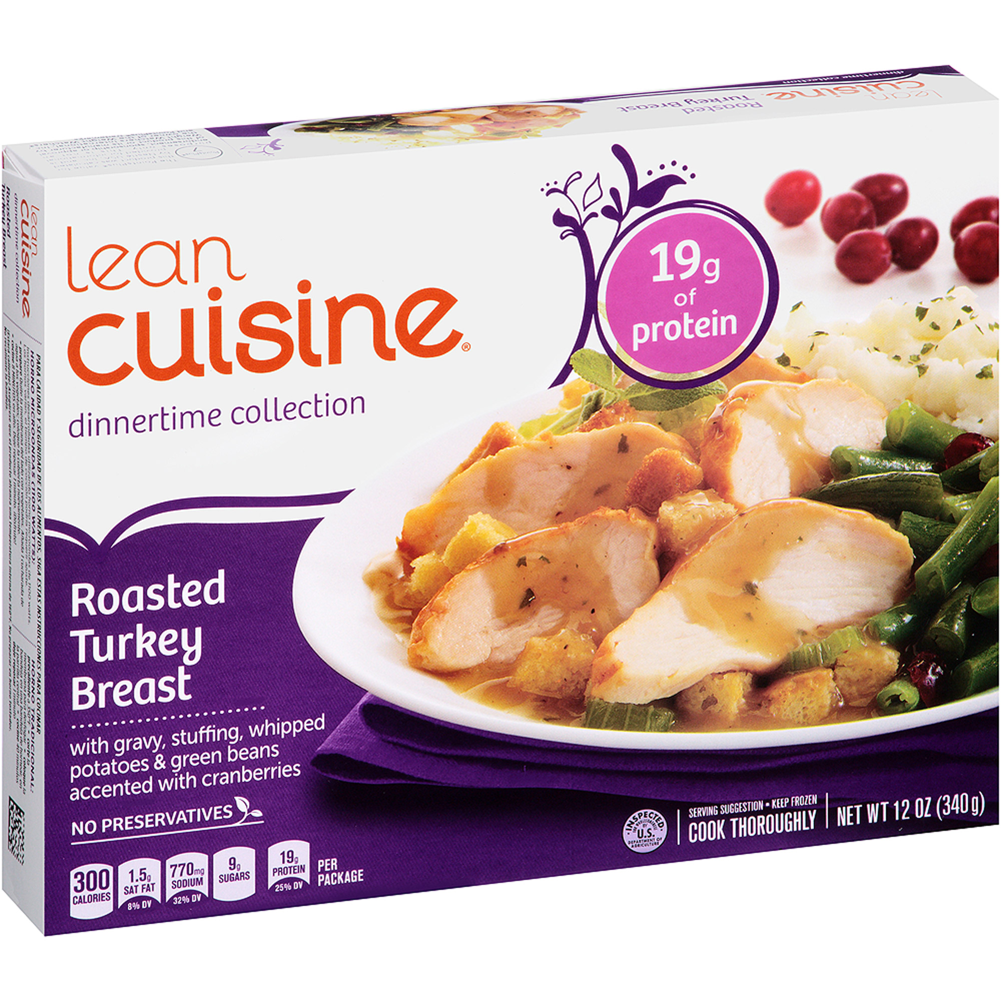 Stouffer���s Lean Cuisine Dinnertime Selects Roasted Turkey Breast, 12 oz