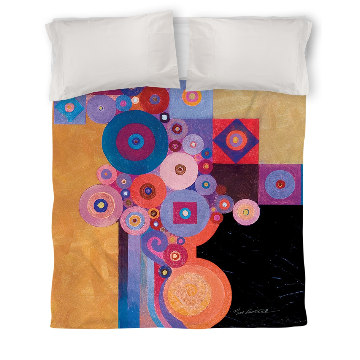 IDG Peg and Spokes Gear Queen Duvet Cover