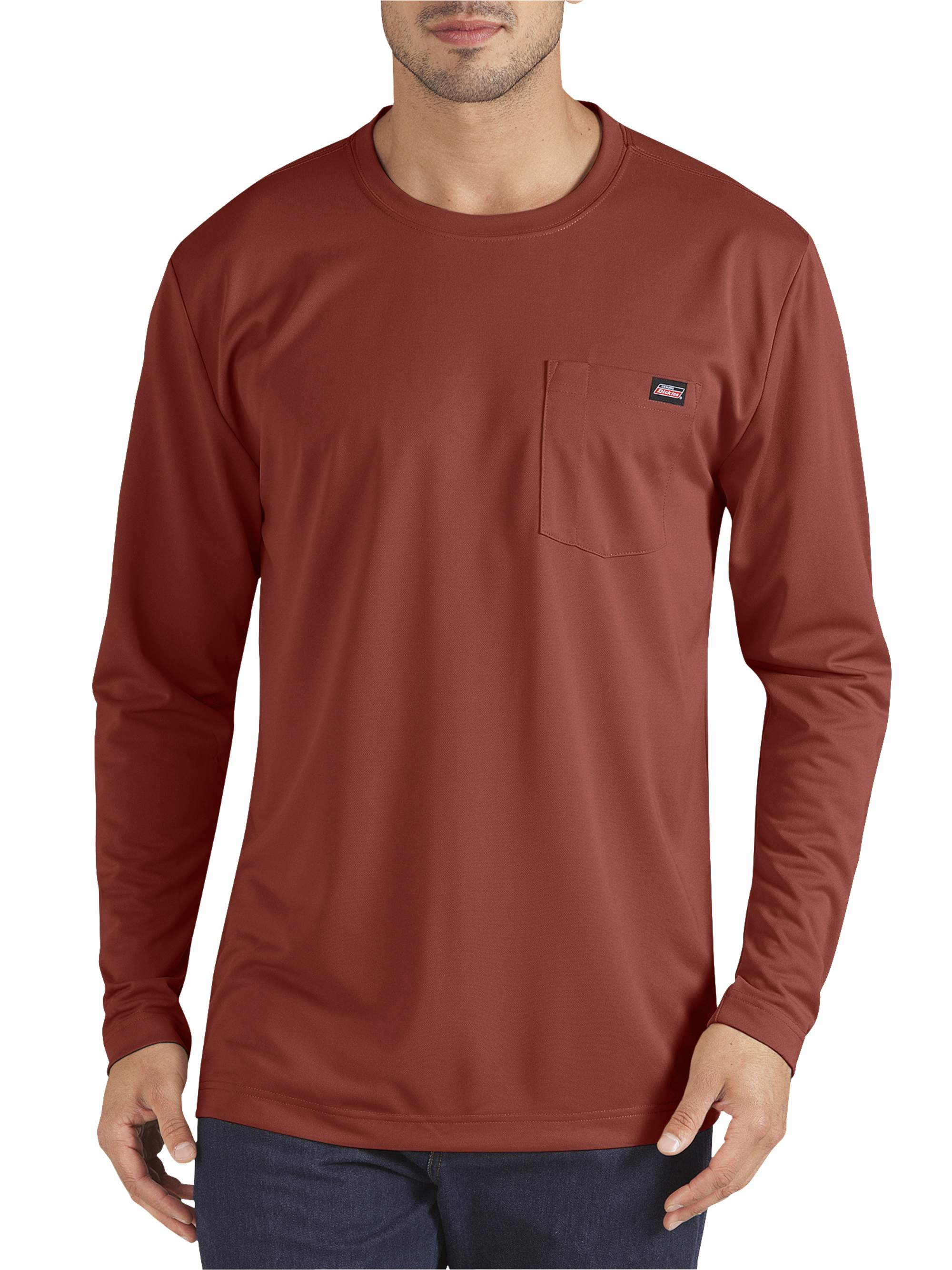 Men's Long Sleeve Performance Pocket T-Shirt