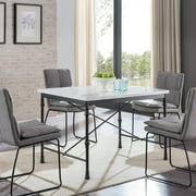 SEI Laden Faux Marble Dining Table