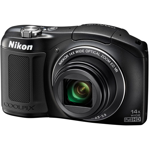 Nikon COOLPIX L620 Digital Camera with 18.1 Megapixels and 14x Optical Zoom (Available in multiple colors)