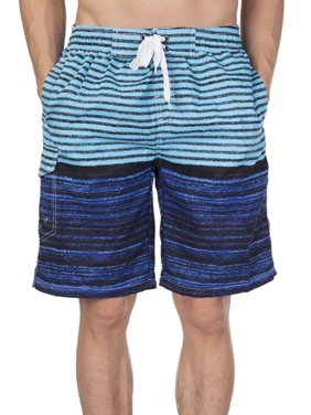 2cc224539c Product Image LELINTA Mens Swim Trunks Watershort Swimsuit Board Colorblock Shorts  Bathing Suits Elastic Waist Drawstring