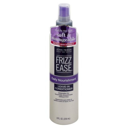 John Frieda Frizz Ease Daily Nourishment Leave-in Conditioner, 8