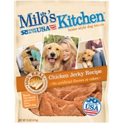 Milo`s Kitchen Chicken Jerky Strips Dog Treats, 15 oz
