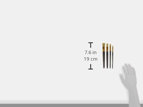 Original Version FolkArt 50614E Long Handle Stencil Brush Set ...