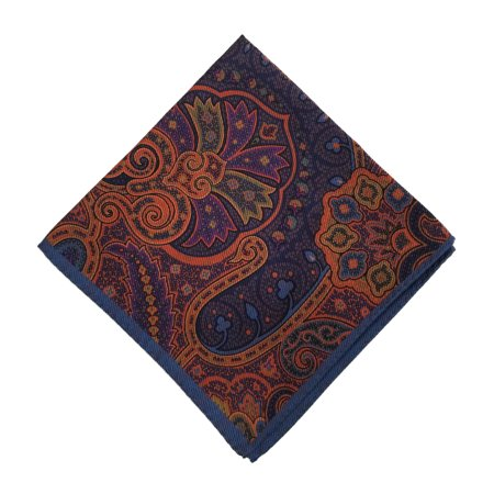 Ted Baker London Silk Pocket Square (Paisley (Paisley Silk Pocket Square)