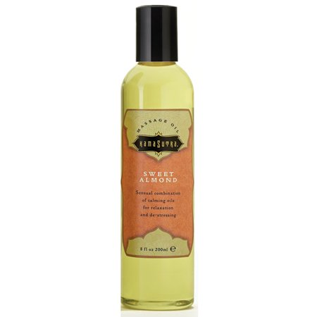 Kama Sutra Massage Oil - Sweet Almond - 8 oz (Kama Sutra Massage Oil Of Love)