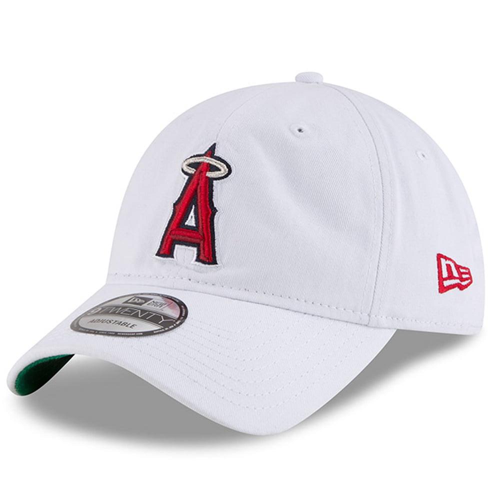 Los Angeles Angels New Era Classic 9TWENTY Adjustable Hat - White - OSFA