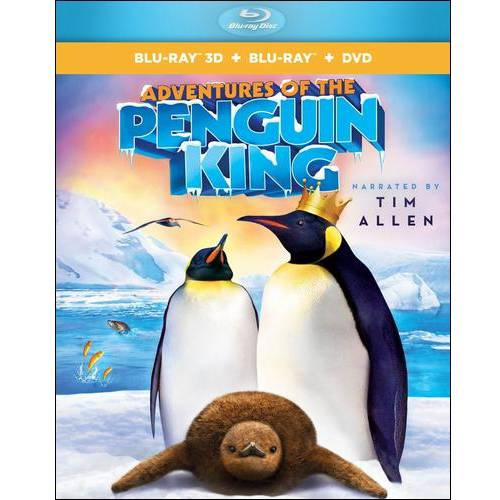 Adventures Of The Penguin King (3D Blu-ray + DVD) (Widescreen)