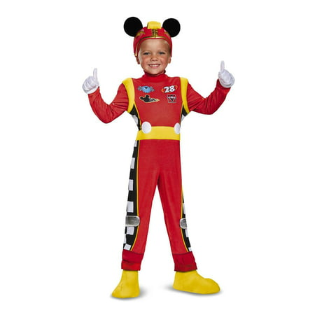 Mickey Roadster Deluxe Child Costume S (4-6) - Mens Mickey Costume