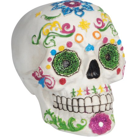 Loftus Day of the Dead Sugar Skull 5.5