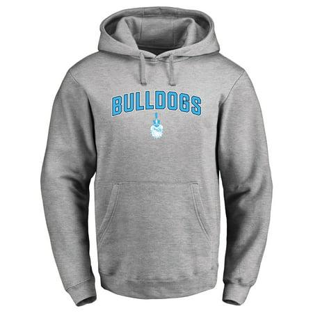 Citadel Bulldogs Proud Mascot Pullover Hoodie - Ash - - Bulldog Mascot