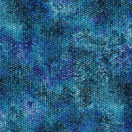 Robert Kaufman Atlantia Ocean Glimmering Fish Scale Texture