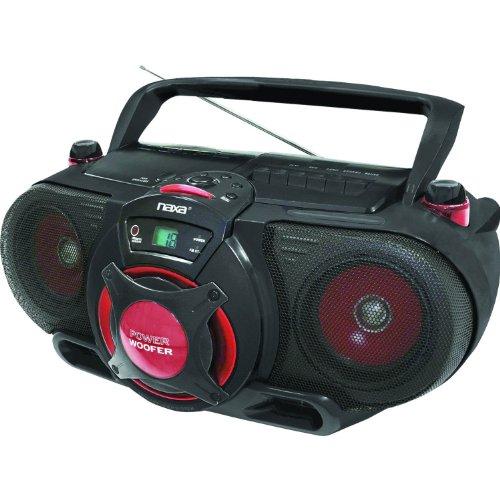 NAXA Npb-259 Radio/cd Player/cassette Recorder Boombox - ...