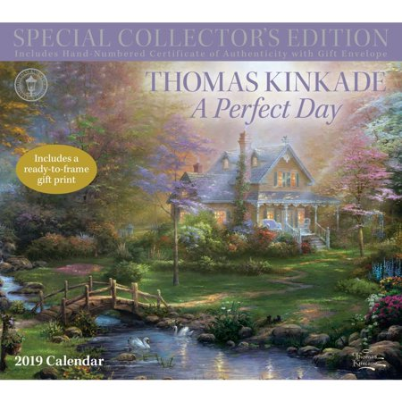 - 2019 Kinkade Collectors Wall Calendar, Kinkade by Andrews McMeel Publishing