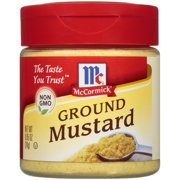 McCormick Ground Mustard, 0.85 oz