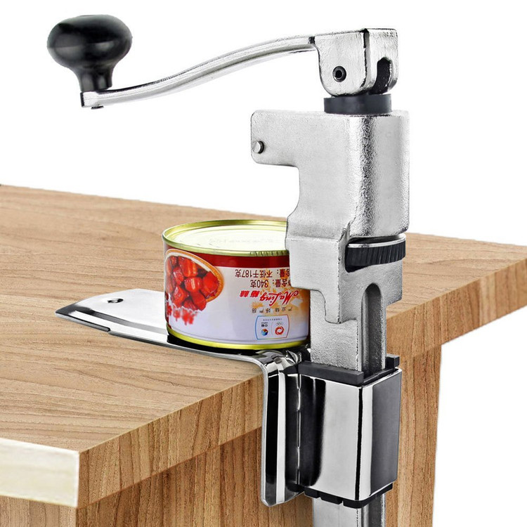 """11/"""" Stainless Steel Heavy Duty Tin Can Opener Easy Open Commercial Kitchen Use"""