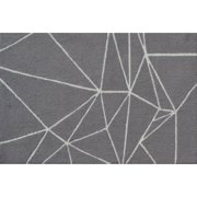 "The Rug Market Facet Grey 2.8"" x 4.8"" Area Rug"