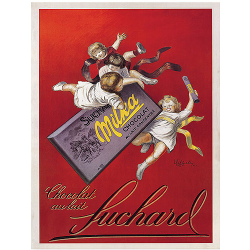 "Trademark Fine Art ""Chocolat Au Lait"" Canvas Art, 14x19"