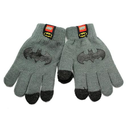 Lego Batman Movie Kids Gloves With Bat Symbol on Top