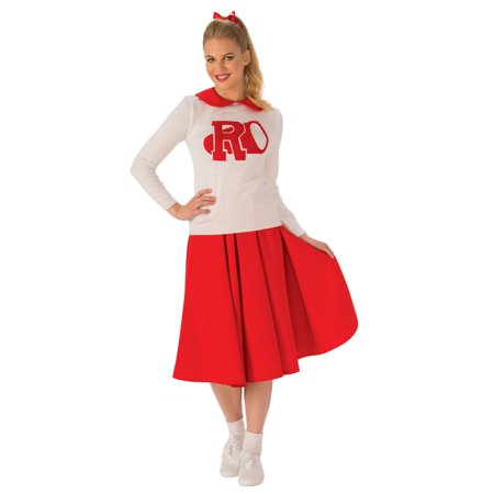 Women's Grease Rydell High Cheerleader Costume (Cowboy Cheerleader Costume)