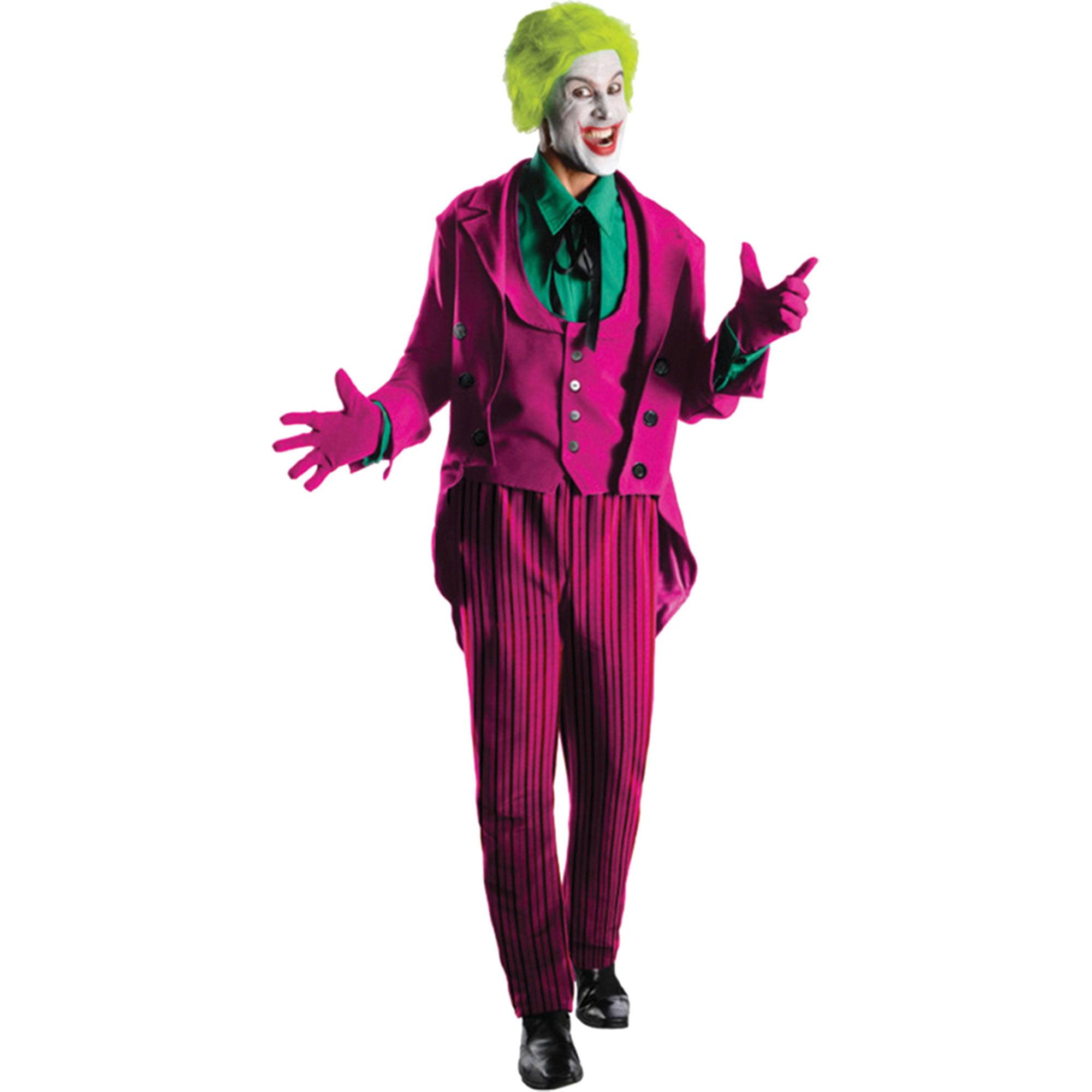 Morris Costumes Mens Superheroes & Villains Batman Joker Heritage 44, Style RU887209