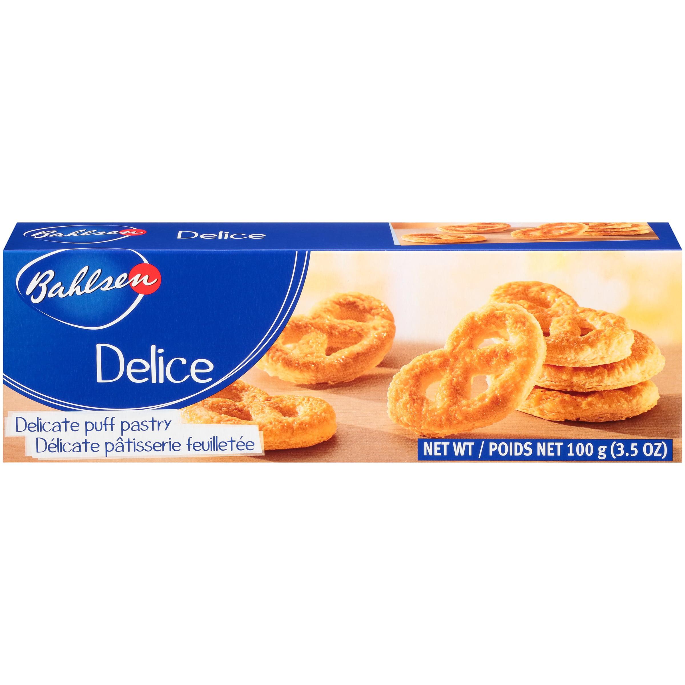 Bahlsen Delice Puff Pastry 35 Oz Box Walmartcom
