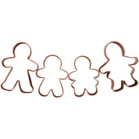 Wilton Gingerbread Family Cookie Cutter Set, 4-Piece