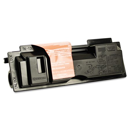 Kyocera TK122 Toner, 7200 Page-Yield, Black