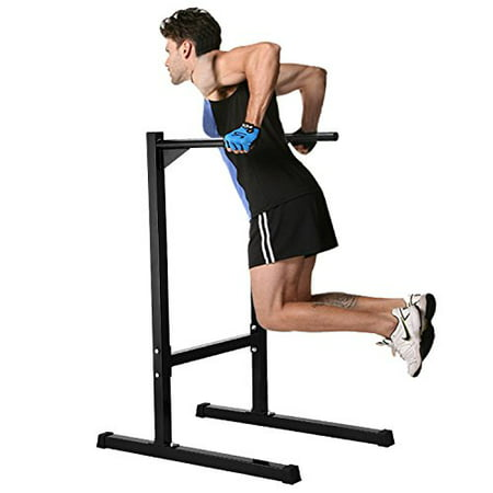 Heavy Duty Freestanding Dip Station Parallel Bar for Chest Bicep Triceps