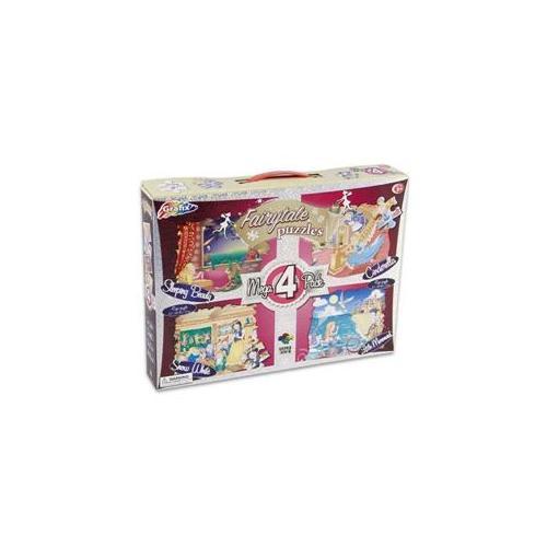 DDI 918761 Fairytale Mega Puzzle 4 Pack Case Of 12