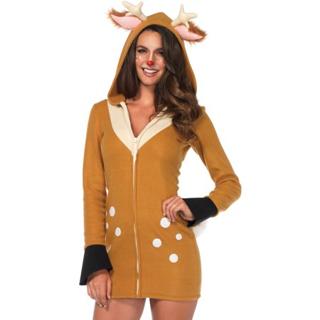 Leg Avenue Adult Cozy Fawn Costume - Baby Fawn Halloween Costume