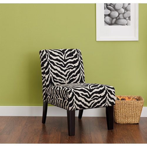 Hometrends Accent Chair, Zebra Print