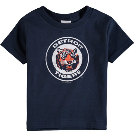 Detroit Tigers Soft As A Grape Toddler Cooperstown Collection Shutout T-Shirt - - Toddler Tiger