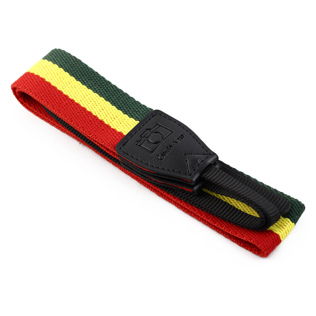 SHETU Authorized SLR Camera Anti-slip Shoulder Neck Strap Belt Green Yellow - image 5 de 6