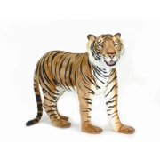 Standing Large Bengal Tiger Plush Stuffed Animal