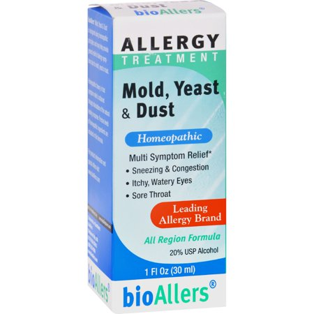bioAllers Allergy Treatment Mold Yeast & Dust, 1