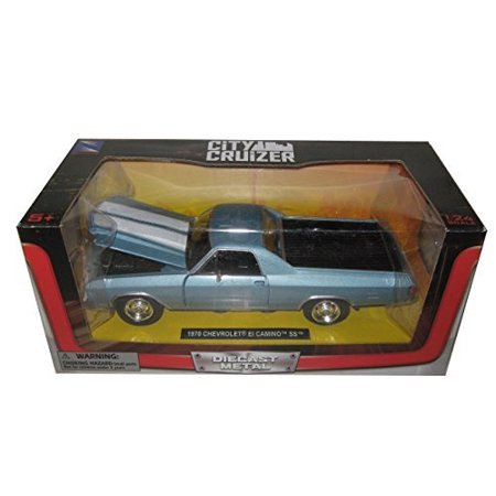 1970 Chevrolet El Camino SS Blue 1/24 by New Ray (Chevrolet El Camino)