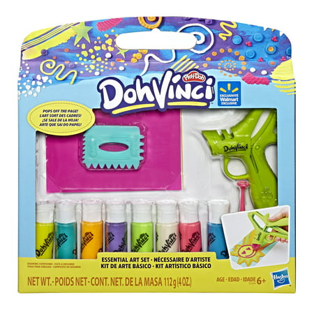 DohVinci Essential Art Set with 8 Colors by Play-Doh Brand