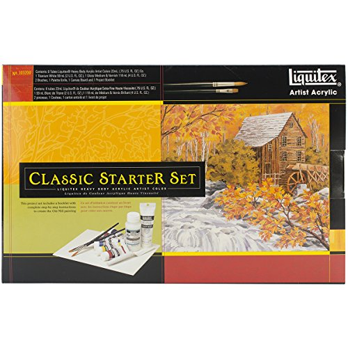 Liquitex Professional Heavy Body The Old Mill Classic Starter Set Multi-Colored