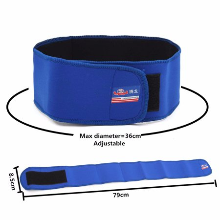 Man Women Breathable Lumbar Support Belt by Sparthos Relief for Back Pain, Herniated Waist Strap Disc, Sciatica, Scoliosis Adjustable Support Straps 79cm *85mm/2.6*2.8ft