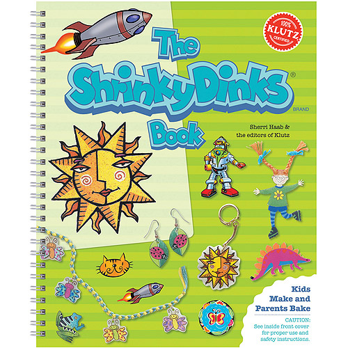 The Shrinky Dinks Book  Spiral-bound   ? August 1, 1999 Multi-Colored
