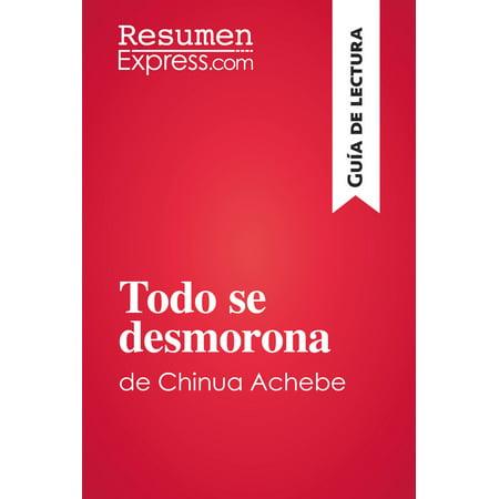 Todo se desmorona de Chinua Achebe (Guía de lectura) -