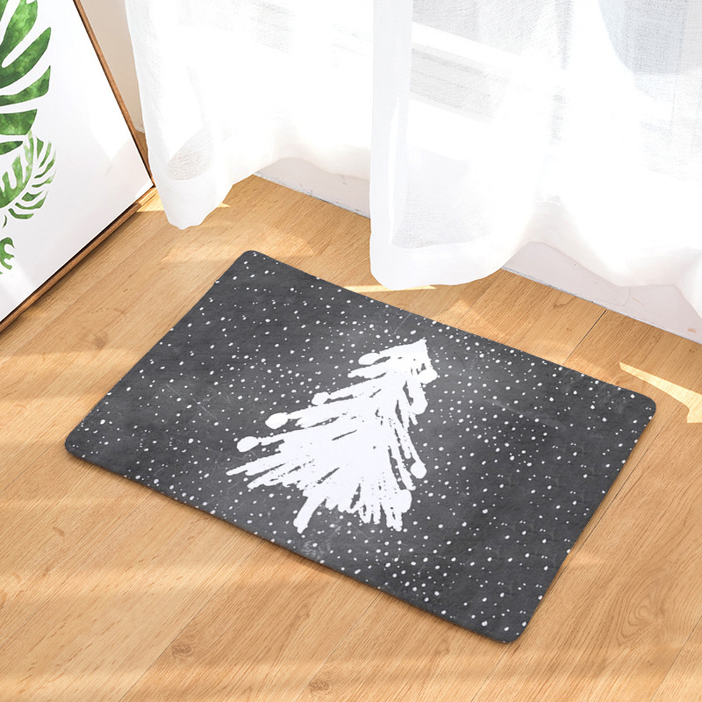 kitchen floor mats padded mosunx christmas home non slip door floor mats hall rugs kitchen bathroom carpet decor