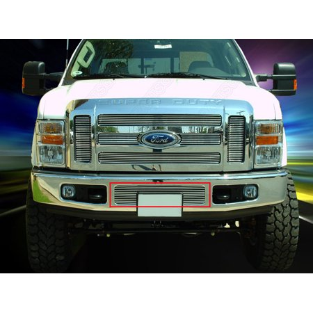 Fedar Lower Bumper Billet Grille For 2008-2010 Ford F-250/F-350/F-450/F-550 Super Duty