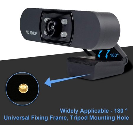 Full HD 1080P Webcam USB Webcam with Microphone Widescreen Video Camera for Computer Laptop PC - image 7 of 7