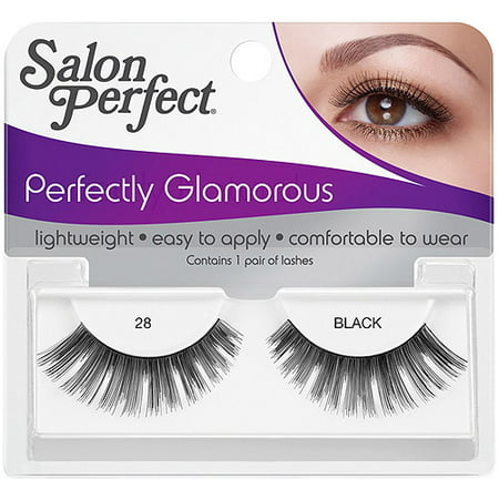 Salon perfect perfectly glamorous eyelashes 28 black 1 for Hair salon perfect first essential
