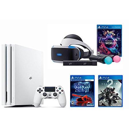 Playstation Vr Launch Bundle 3 Items Vr Launch Bundle Playstation 4 Pro 1Tb Destiny 2 Bundle Vr Game Disc  Psvr Battlezone