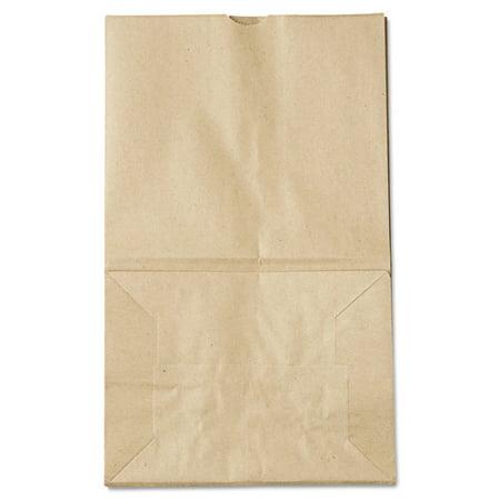 - Paper Bags & Sacks 18421 #20 Squat Paper Grocery Bag, 40lb Kraft, Std 8 1/4 X 5 15/16 X 13 3/8, 500 Bags