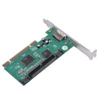 FAGINEY PCI to 2 SATA Ports + 1 eSATA Port + 1 IDE Interface RAID Controller Card, PCI IDE Card, PCI SATA Card
